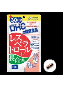 DHC Ресвератрол + Японский женьшень / Мощные антиоксиданты (30 дней)