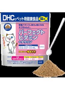 DHC Базовые витамины для кошек + таурин (30 дней)