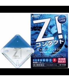 Капли для глаз ROHTO Z! CONTACT / Для всех типов линз