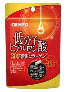 ORIHIRO Низкомолекулярная гиалуроновая кислота + плотный коллаген + плацента (30 дней)