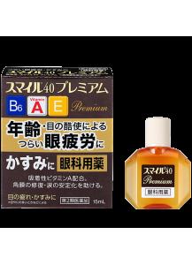 Японские глазные капли LION SMILE 40 PREMIUM