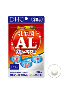 DHC Три вида лактобактерий  / Здоровье кишечника + Здоровая кожа + Иммунитет  (30 дней)