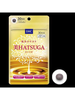 "DHC ""HATSUGA"" Борьба с потерей волос + сияющая кожа (30 дней)"