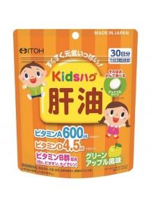 ITOH Детский СКВАЛЕН / витамины A D В со вкусом яблока (30 дней)
