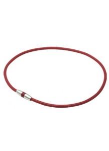 Магнитное ожерелье RAKUWA с акватитаном X10 / 50 мТсл, цвет: красный (45 см)