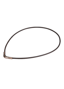 Титановое ожерелье Rakuwa X100 Chopper цвет: коричневый, 40 см