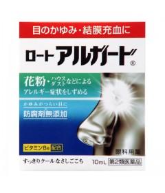 Капли против аллергии, снятия зуда и покраснения глаз Rohto ALGUARD / 10 мл