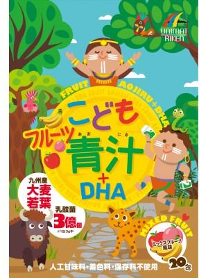 Детский АОДЗИРУ с лактобактериями, витаминами и ОМЕГА-3 с фруктовым вкусом / UNIMAT RIKEN (20 дней)