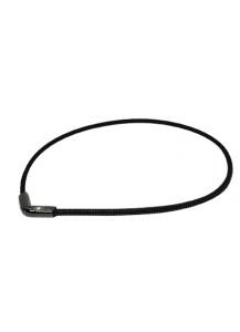 Титановое ожерелье X50 Rakuwa V / цвет черный (55 см)