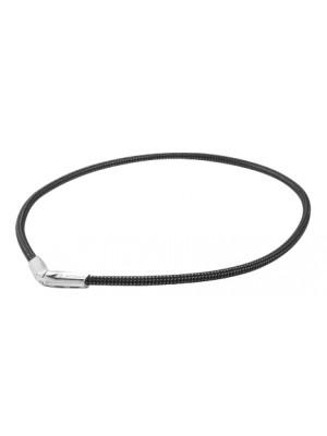 Титановое ожерелье X50 Rakuwa V / цвет черный, металлик (55 см)