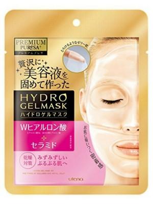 Гидрогелевая маска Puresa PREMIUM с гиалуроновой кислотой и церамидами / UTENA / 25 г