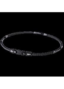 Титановое ожерелье Rakuwa Х50 цвет: черный, коричневый 45 см