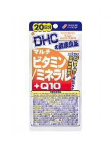 DHC Комплекс мультивитаминов, мультиминералов + Q10 20дн