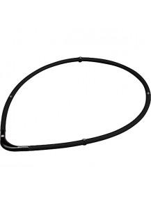 Титановое ожерелье Rakuwa S-II усиленное (45 см) черное